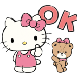 de Hello Kitty Daily Cuteness Pegatinas 2