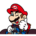 Mario Kart Nálepky 2