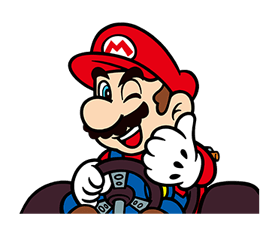Mario Kart Stickers 2