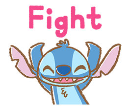 Stitch Cuteness Stickers 2
