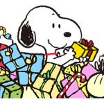 Wonderful Winter Snoopy Stickers 2
