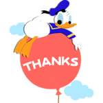 Donald Duck  Stickers 2