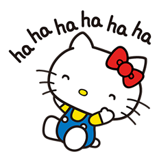 Hello Kitty Pouncing Stickers 2