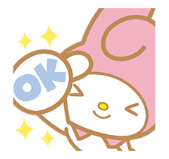 My Melody Sticker 1