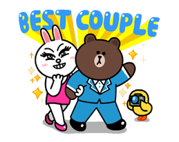 Brown & Cony's Thrilling Date Stickers 2
