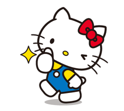 Hello Kitty 2 Stickers 2