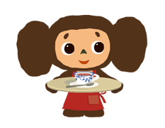Cheburashka Stickers 1
