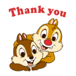 Chip 'n' Dale 2 Stickers 2