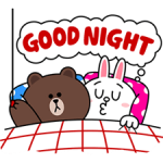 Brown & Cony ini Big Love Stiker 2