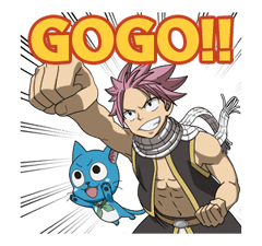 FAIRY TAIL Action Stickers! 20