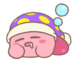 Puffball Sticker Set di Kirby 20