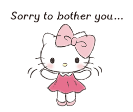 Hello Kitty Polite Stickers 20