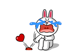 Brown & Cony's Heaps of Hearts! Stickers 20