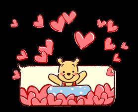Winnie the Pooh Speech Balloons Stickers 20