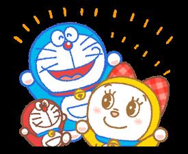 Doraemon & Dorami klistermærker 20