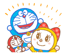 Doraemon & Dorami Adesivi 20