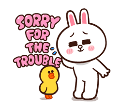 LINE Characters: Pretty Phrases Stickers 20