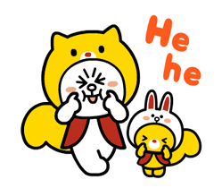 LINE FRIENDS & HELLO KITTY 20