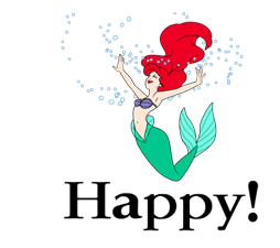 The Little Mermaid Stickers 20