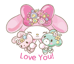 My Melody: Too Cute for You! Stickers 20