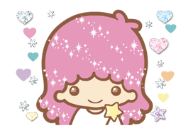 Little Twin Stars: Twinkly Stickers 20