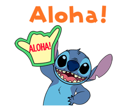 Stitch (Rowdy) Stickers 24
