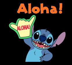 Stitch (Rowdy) Klistremerker 24