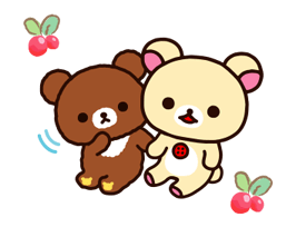 Rilakkuma~Korilakkuma with a new friend~ Stickers 23