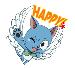 FAIRY TAIL Action Stickers! 24