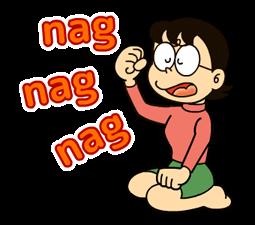 Doraemon: Котировки Наклейки 21