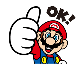 Talking Super Mario Stickers 21
