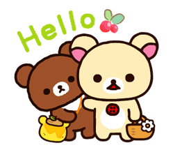 Rilakkuma~Korilakkuma with a new friend~ Stickers 21