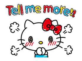 Hello Kitty's Quick Replies! Stickers 21