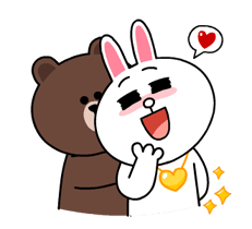 Brown & Cony's Thrilling Date Stickers 21