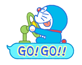 Doraemon & Dorami klistremerker 21