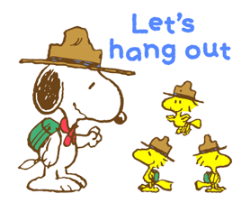 Super Spring Snoopy Stickers 21