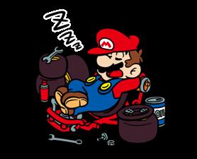 Mario Kart Stickers 21