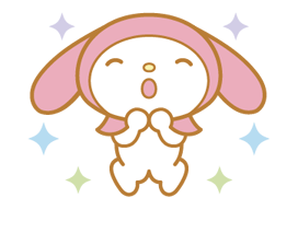 My Melody 2 Stickers 21