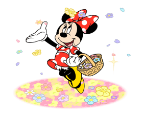 Minnie Mouse Stiker 21