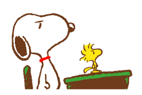 SNOOPY & Woodstock Stickers 22