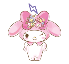 My Melody: Too Cute for You! Stickers 21