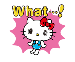 Hello Kitty's Quick Replies! Stickers 24