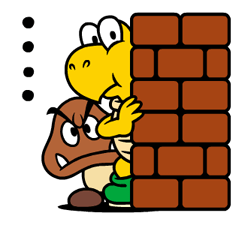 Talking Super Mario Stickers 22