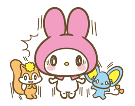My Melody: Sweet as Can Be! Stickers 2