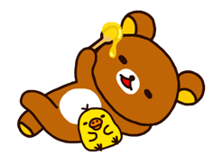 Rilakkuma~Korilakkuma with a new friend~ Stickers 22