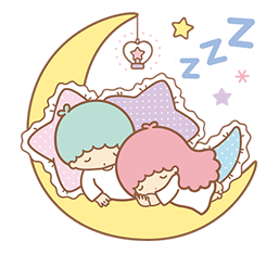 Little Twin Stars Sparkling Stickers 2