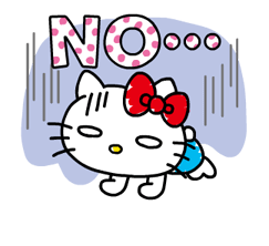 Hello Kitty's Quick Replies! Stickers 22