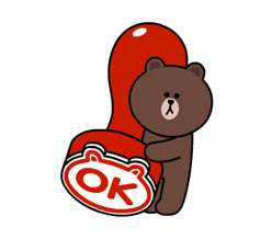 Brown og Cony Fun Size Pack klistremerker 22