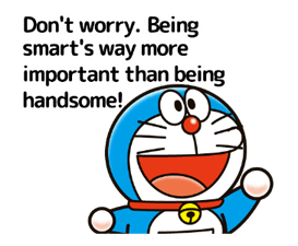 Doraemon's Adages Stickers 22