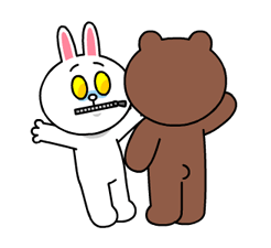 Brown & Cony's Heaps of Hearts! Stickers 22